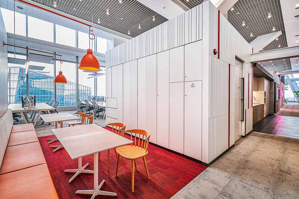 JLL Korea Office, Re-imagining the Future of Work